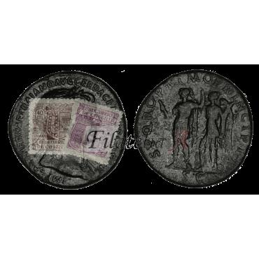 Trajano. Sestercio (98-117 d.C.)