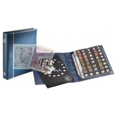 Álbum de monedas de Euro OPTIMA, azul