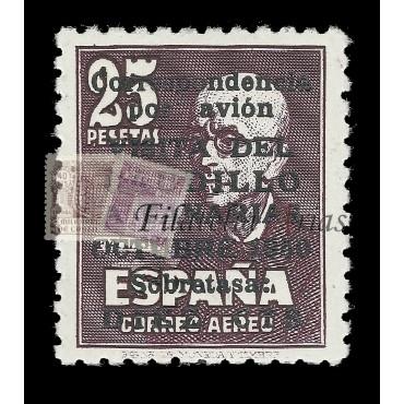 1090 Visita del Caudillo a Canarias - NUEVO CON CHARNELA