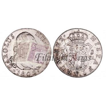 Carlos IV. 8 reales. 1802. Madrid.