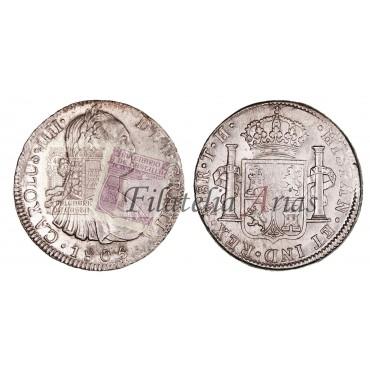 Carlos IV. 8 reales. 1806. México.