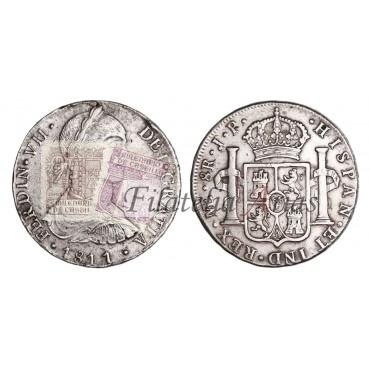 Fernando VII. 8 reales. 1809. Sevilla.