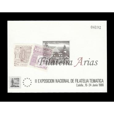 1986. Prueba Nº9. Calella.