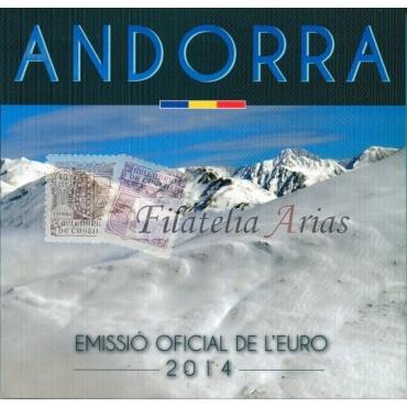 2€ 2014 Andorra - Consejo Europa