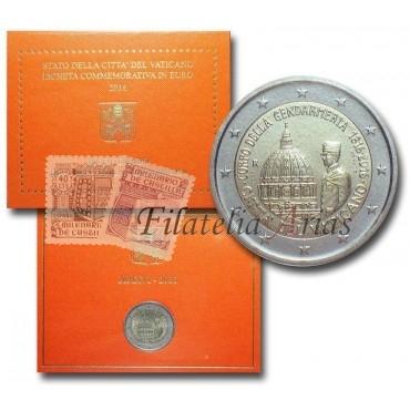 2€ 2016 Vaticano - Gendarmería