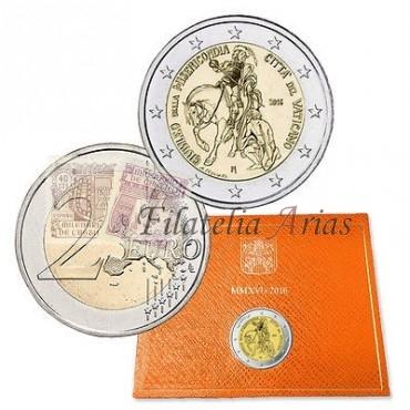 2€ 2016 Vaticano - Misericordia