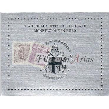 Euros Vaticano 2003