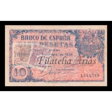 10 ptas 1936 - Sin serie (EBC-)