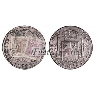 Carlos IV. 8 reales. 1789. México.