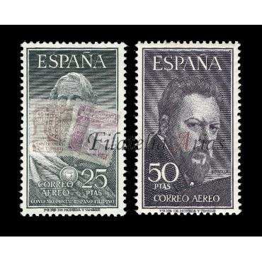 1124/25 Legazpi y Sorolla - NUEVO CON CHARNELA (Lujo)