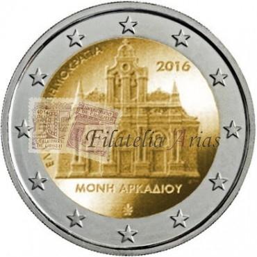 2€ 2016 Grecia - Arkadi