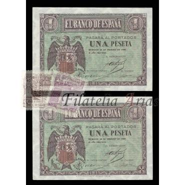 1 pta 1938 - Correlativos (S/C)