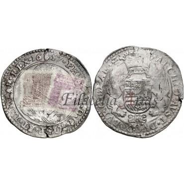 Felipe IV. Ducatón. Amberes. 1657.