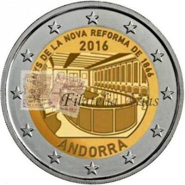 2€ 2016 Andorra - Reforma 1866