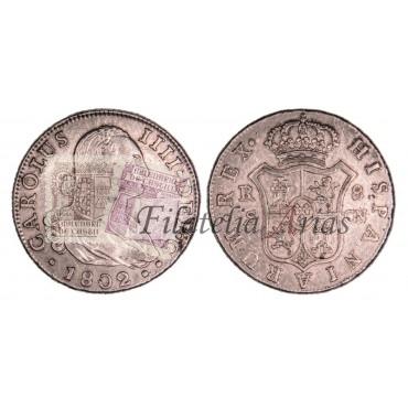 Carlos IV. 8 reales. 1802. Sevilla.