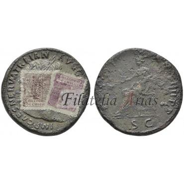 Trajano. Sestercio (114-117 d.C.)
