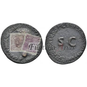 Germánico. As (37-38 d.C.)