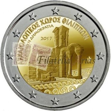 2€ 2017 Grecia - Filipos