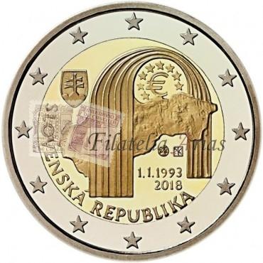 2€ 2018 Eslovaquia - República