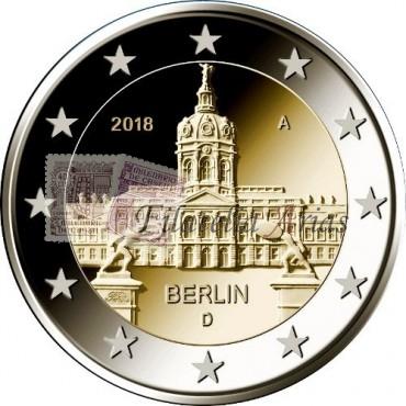 2€ 2018 Alemania - Charlottenburg (5 cecas)