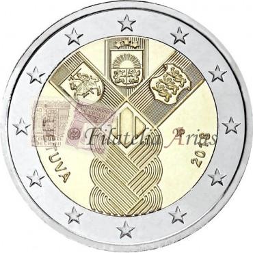 2€ 2018 Lituania - Estados bálticos independientes