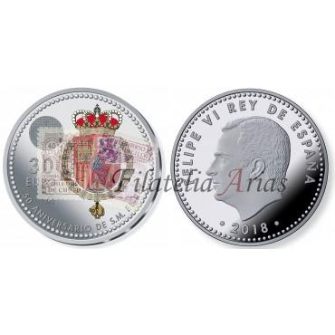 30 euros - 50º aniversario Felipe VI
