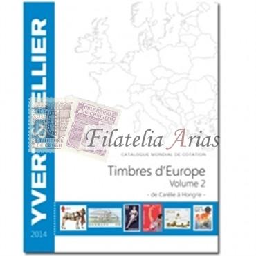 Europa Volumen 2 - 2014 Yvert Tellier