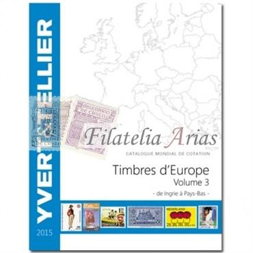Europa Volumen 3 - 2015 Yvert Tellier