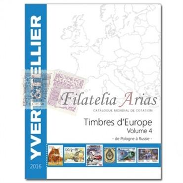 Europa Volumen 4 - 2016 Yvert Tellier