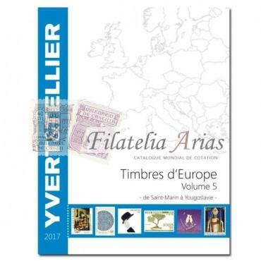 Europa Volumen 5 - 2017 Yvert Tellier