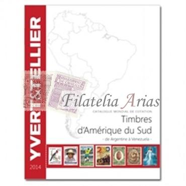 Ámerica del Sur - 2014 Yvert Tellier