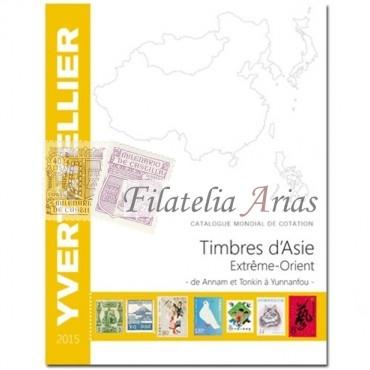 Asia Extremo Oriente- 2015 Yvert Tellier
