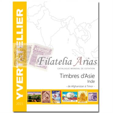 Asia India- 2015 Yvert Tellier