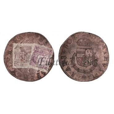 Felipe II. Daalder. Brujas. 1567
