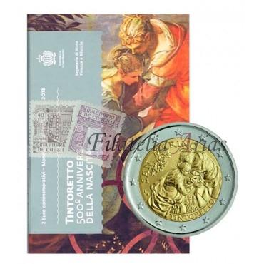 2€ 2018 San Marino - Tintoretto