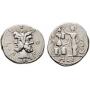 Furia. Denario (119 a.C.)