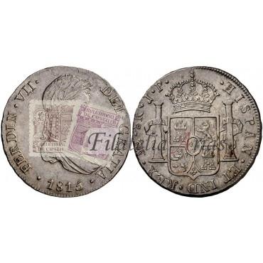 Fernando VII. 8 reales. 1813. Lima.