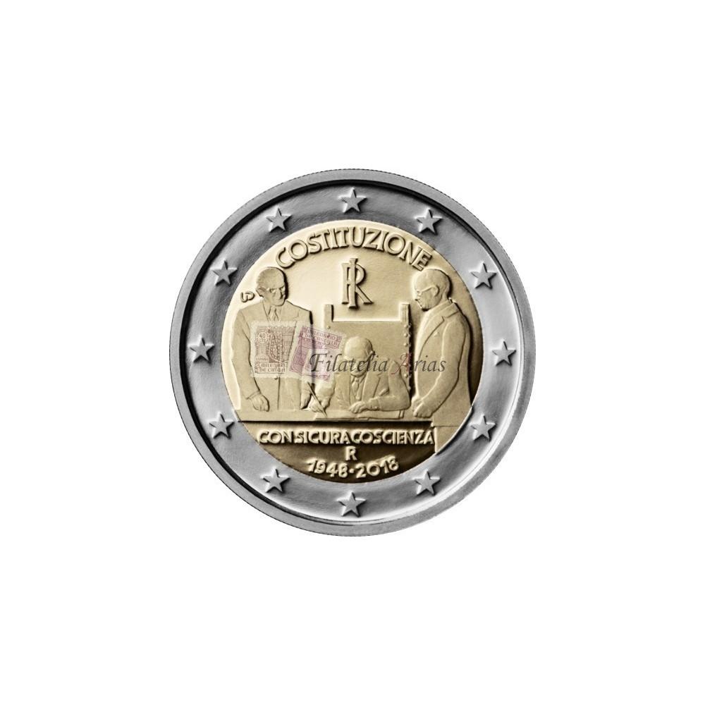 2€ 2018 Italia - Constitución