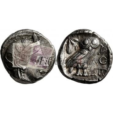 Atenas. Tetradracma. 430-420 a.C.