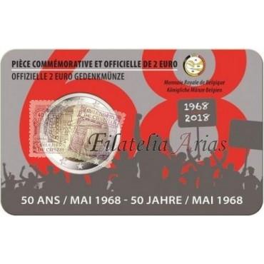 2€ 2018 Bélgica - Insurrección
