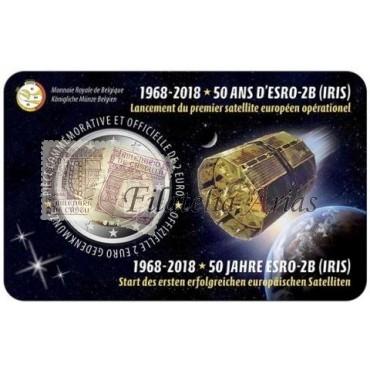 2€ 2018 Bélgica - Satélite ESRO-2B