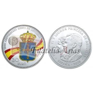 30 euros - 1300º aniversario Asturias