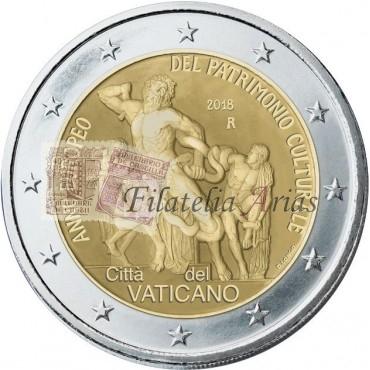 2€ 2018 Vaticano - Patrimonio cultural