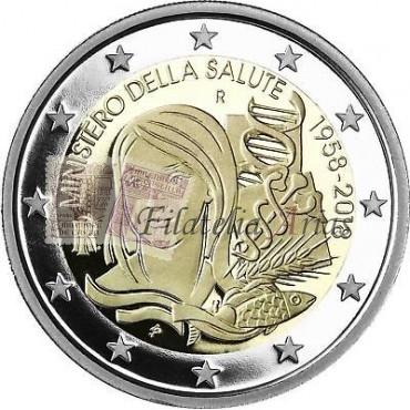 2€ 2018 Italia - Ministerio de Salud