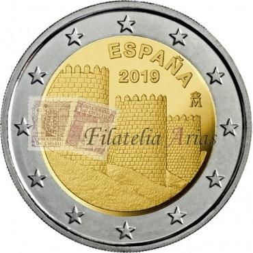 2€ 2019 España - Ávila