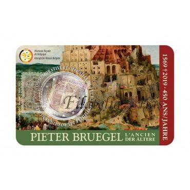 2€ 2019 Bélgica - Pieter Brueghel el Viejo