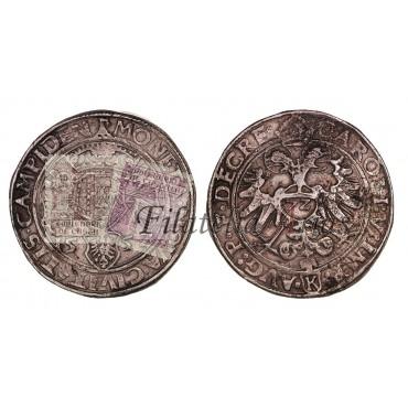 Carlos I. Taler. 1552. Kempten