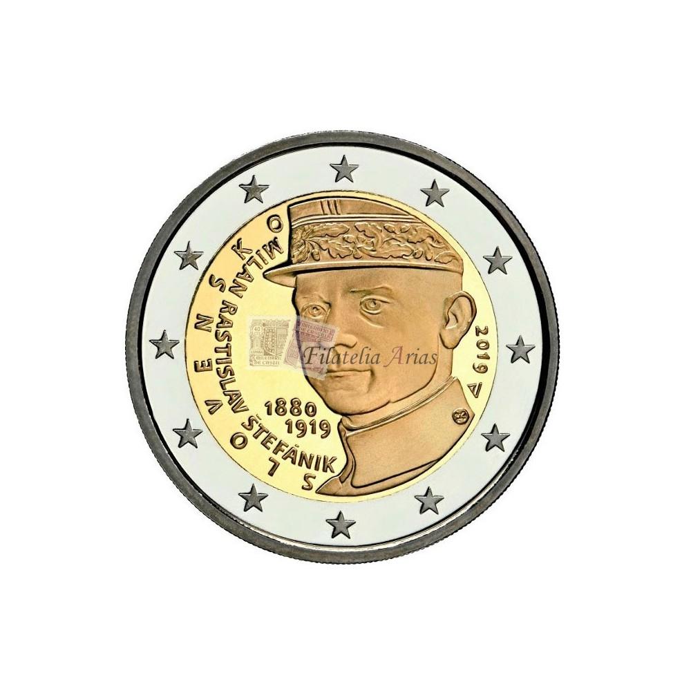 2€ 2019 Eslovaquia - Rastislav Štefánik.