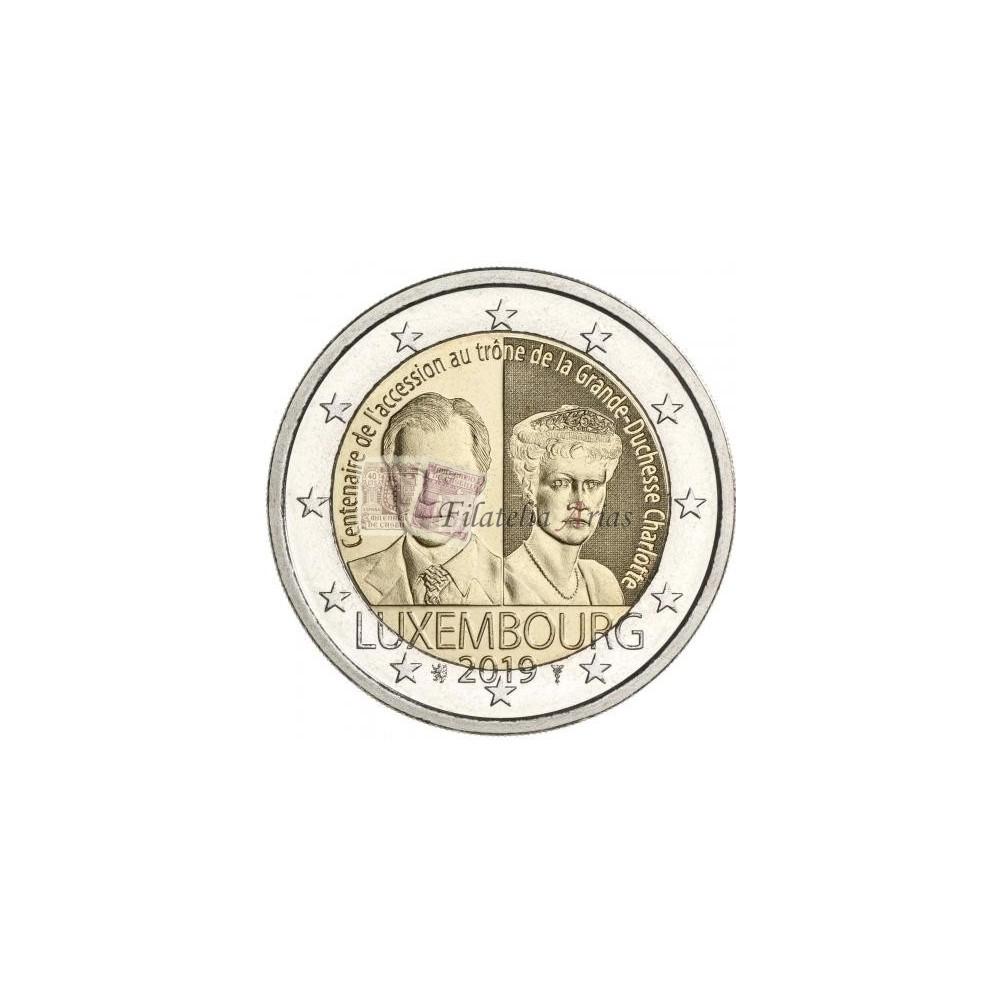 2€ 2019 Luxemburgo - Duquesa Carlota