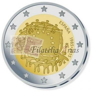 2€ 2015 España - Bandera Europea